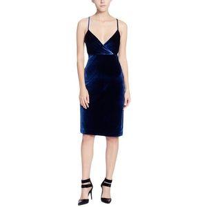 Catherine Malandrino Velvet Sleeveless Dress